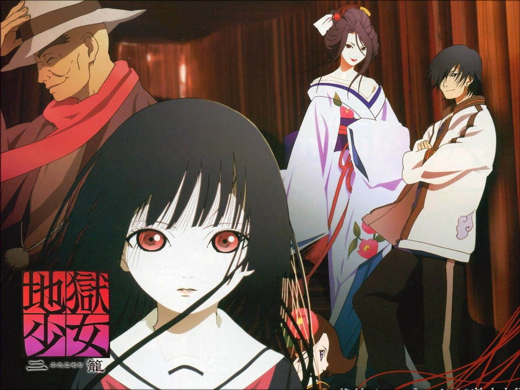 Hell Girl - a movie toward social psychological and detective genres