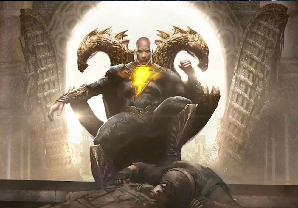 Black Adam - DC movies coming out