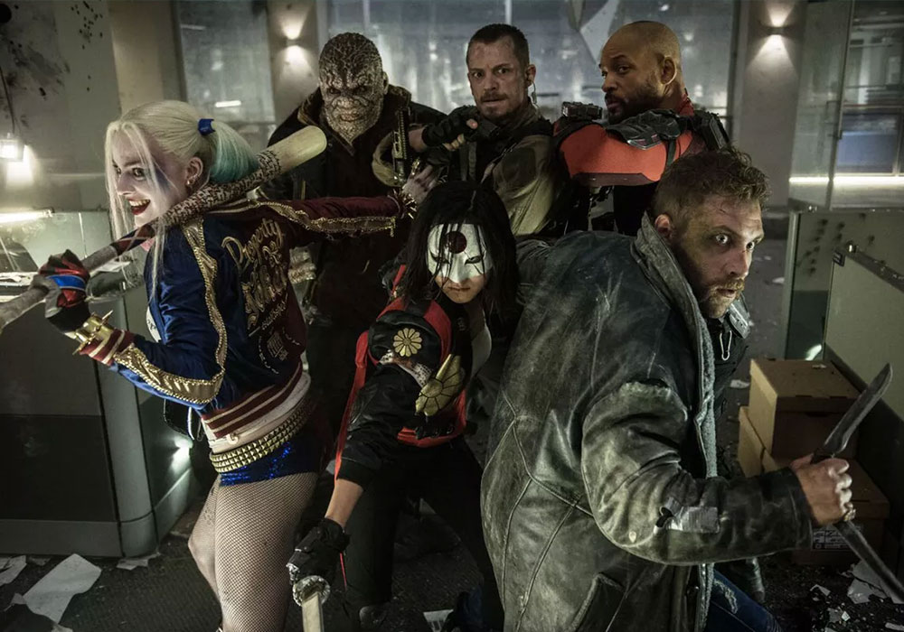 The suicide squad - DC movies coming out