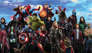 highest grossing superhero movies from Marvel collection